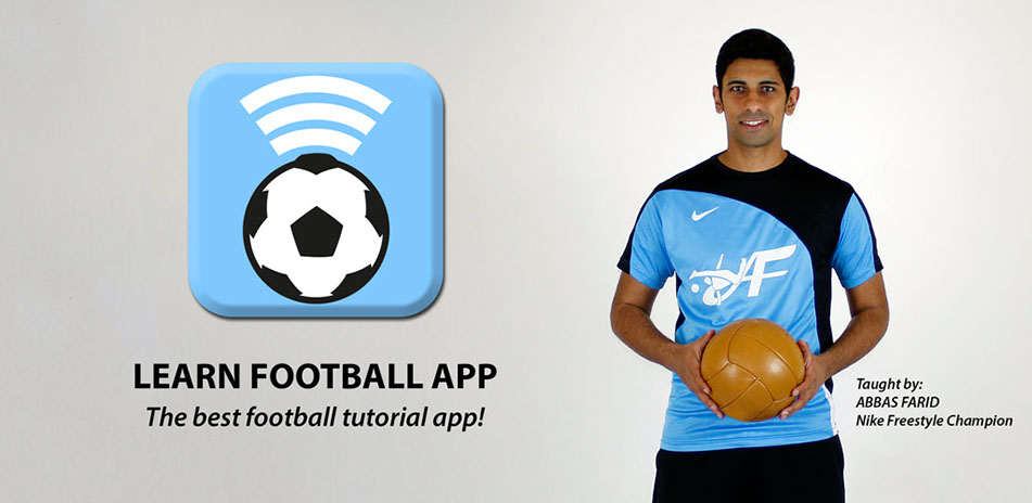 Download the Learn Football App! Available on IOS and Android.